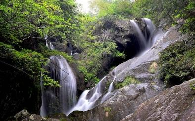 黄羊湖瀑布群